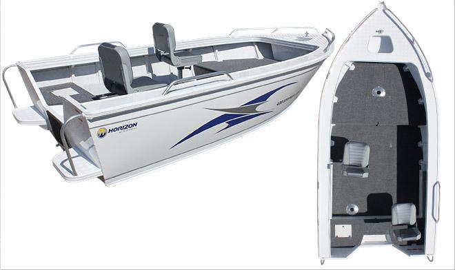 horizon boats 454 stryker xpf